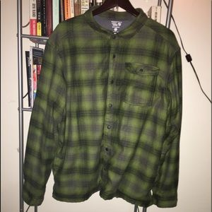 Mountain Hardware Mens Insulated Flannel Jackets